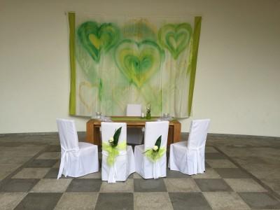 Event-Dekoration Hochzeit