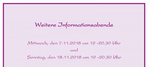 Informationsabende